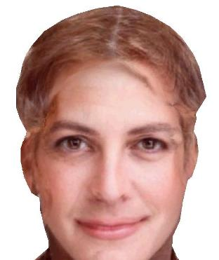 The result - the morphed combination of George Clooney and Julia Roberts