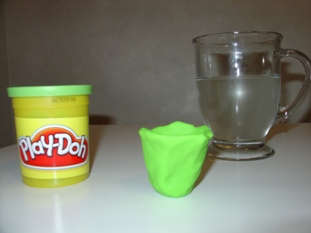Play-Doh boat